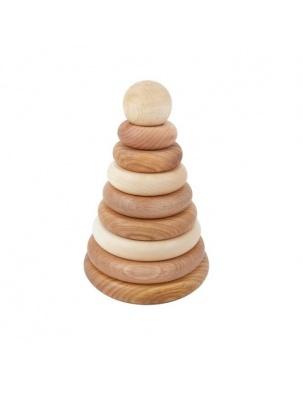 Piramida Naturalna Okrągła WOODEN STORY