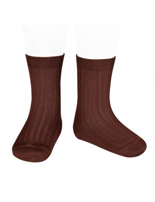 Skarpetki BASIC WIDE RIB SHORT SOCKS CAULDRON Condor