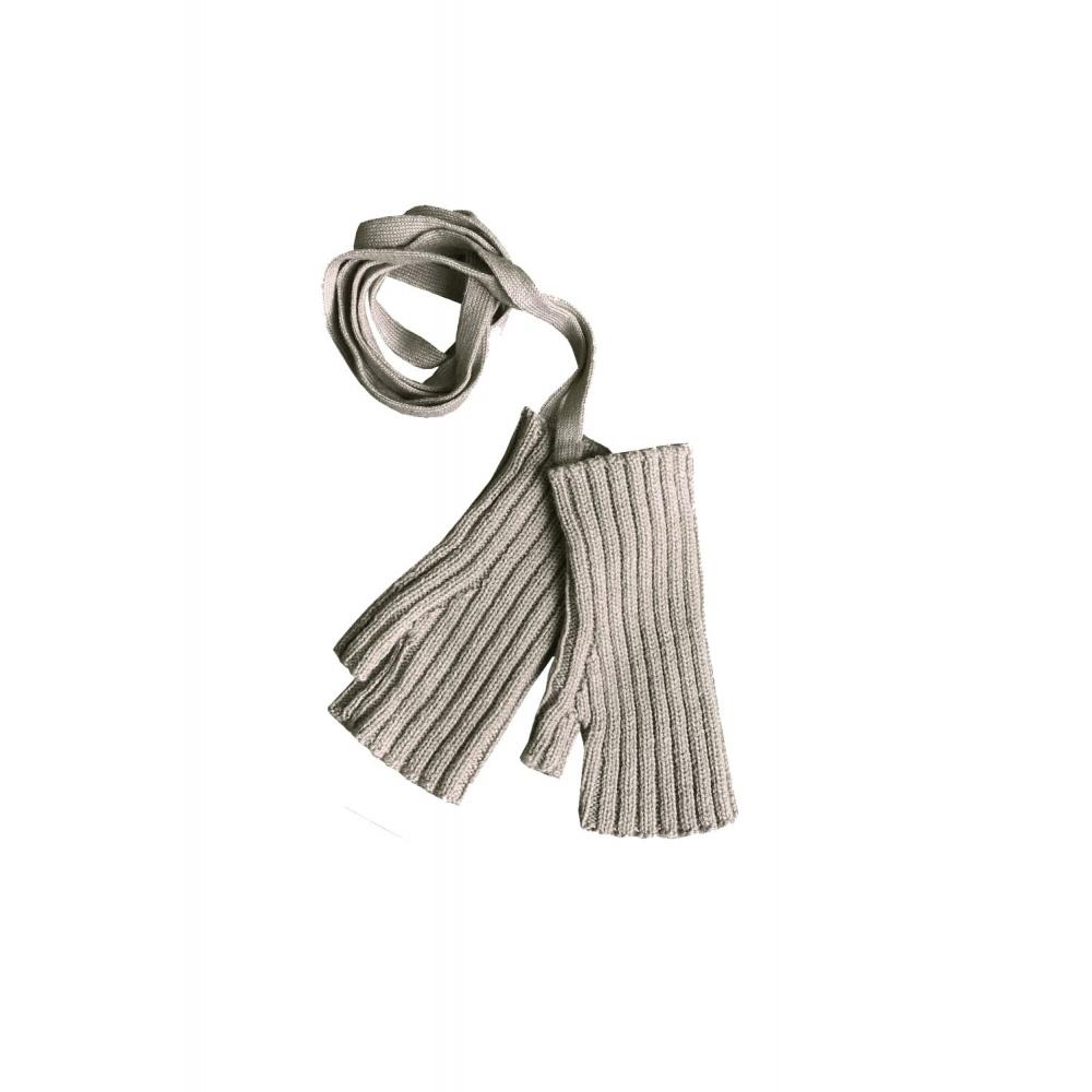 Rękawiczki Sylfaen Mittens on Strings - Wheat MABLI KNITS