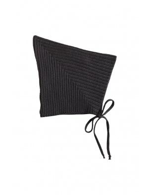 Sylfaen Pixie Bonnet - Ink MABLI KNITS