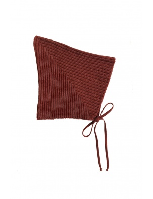 Sylfaen Pixie Bonnet - Redwood MABLI KNITS