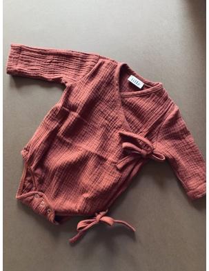 Muślinowe body kimono Auburn lille