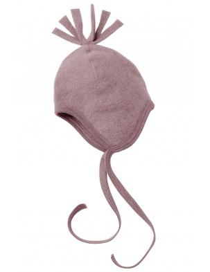 Czapka z wełny merino rosenholz melange Engel
