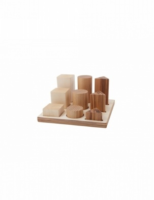 Sorter Board Naturalny XL WOODEN STORY