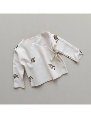 Kaftanik kimono Olive Garden Wrap Top ORGANIC ZOO