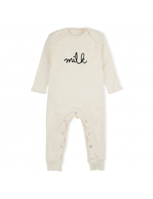 Rampers Natural MILK Playsuit ORGANIC ZOO