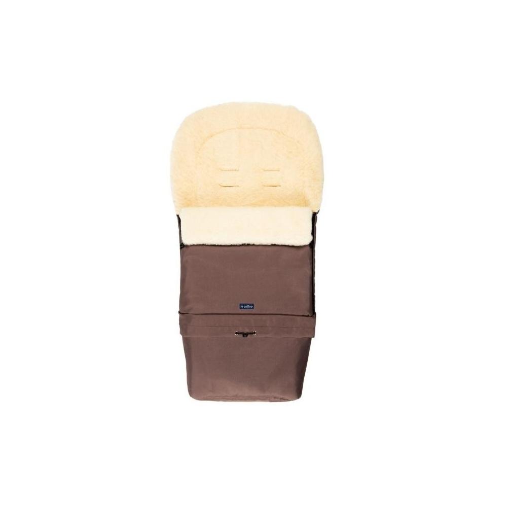 Śpiwór do wózka, spacerówki, fotelika SLEEP&GROW Wool Czekoladowy ZAFFIRO