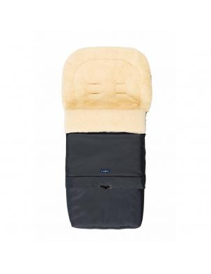 Śpiwór do wózka, spacerówki, fotelika SLEEP&GROW Wool Grafitowy ZAFFIRO