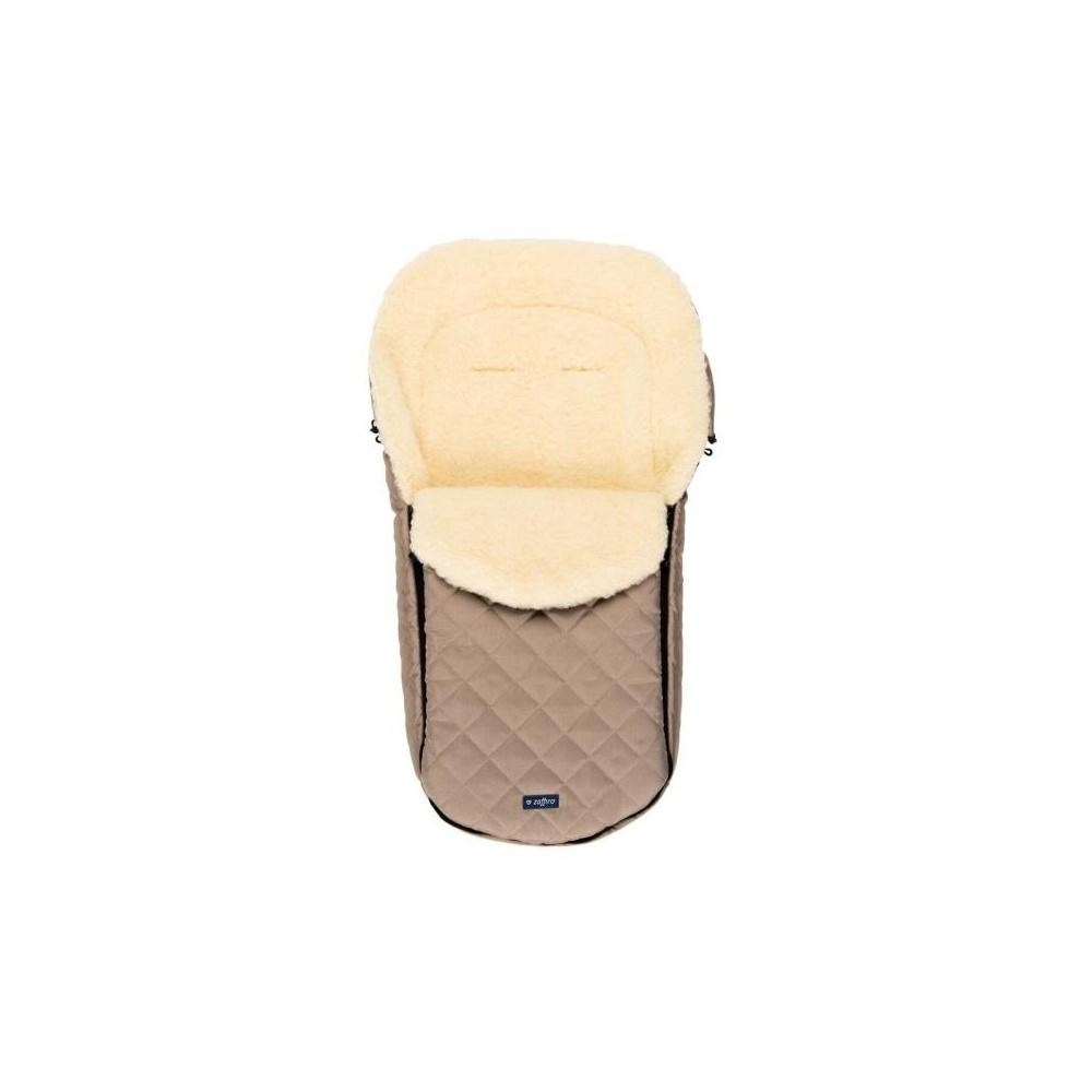 Śpiwór do wózka, spacerówki, fotelika LAMBETTE Exclusive Ciemny Beż ZAFFIRO