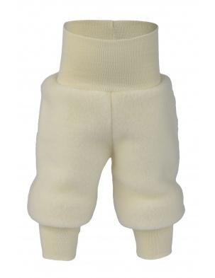 PRZEDSPRZEDAŻ Spodnie z wełny merino natural malnage Engel