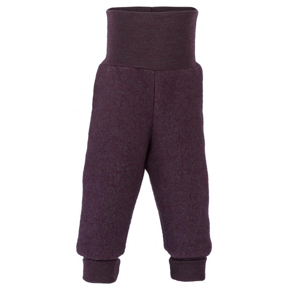 PRZEDSPRZEDAŻ Spodnie z wełny merino lilac malnage Engel