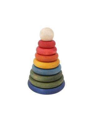 Piramida Kolorowa Okrągła WOODEN STORY