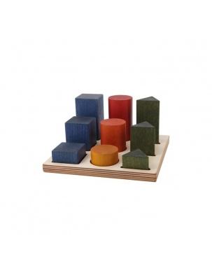 Sorter Board Kolorowy XL WOODEN STORY