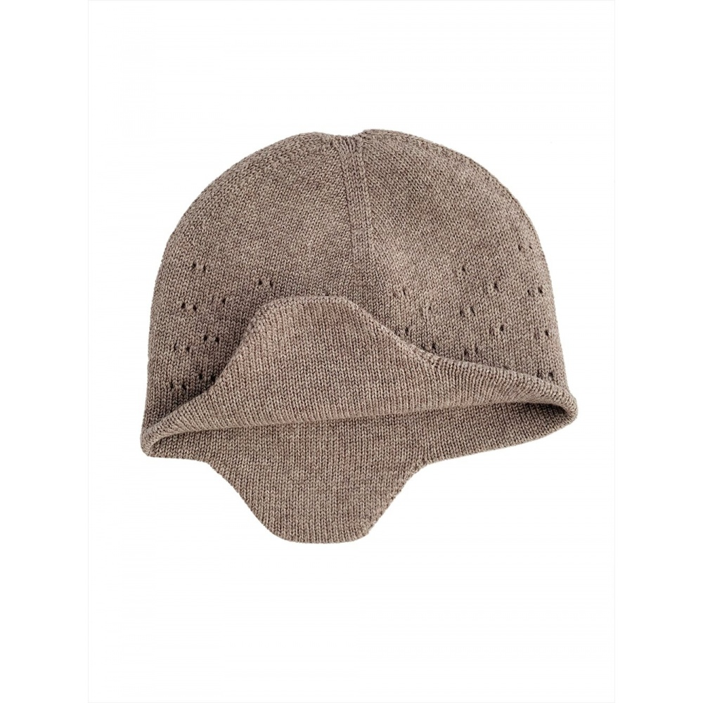 Czapka z wełny merino Hat Dua OTTER Hvid