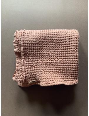 Wafelkowy ręcznik/kocyk DUSTY POWDER 130X130 cm lille