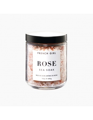 Sól do kąpieli ROSE SEA SOAK - CALMING BATH SALTS FRENCH GIRL