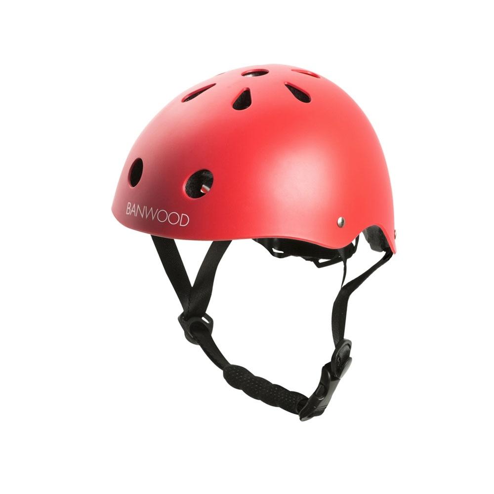 Banwood dziecięcy kask rowerowy RED BANWOOD