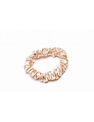 Gumka do włosów 100% jedwab - złota EASY LIVIN