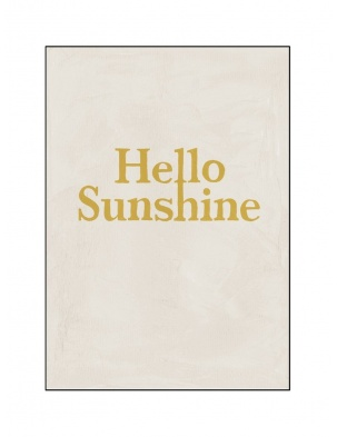 Kartka okolicznościowa HELLO SUNSHINE HOTEL MAGIQUE