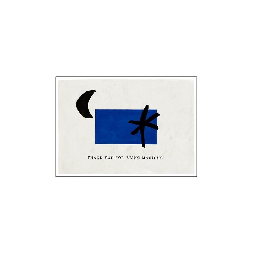 Kartka okolicznościowa THANK YOU FOR BEING MAGIQUE HOTEL MAGIQUE