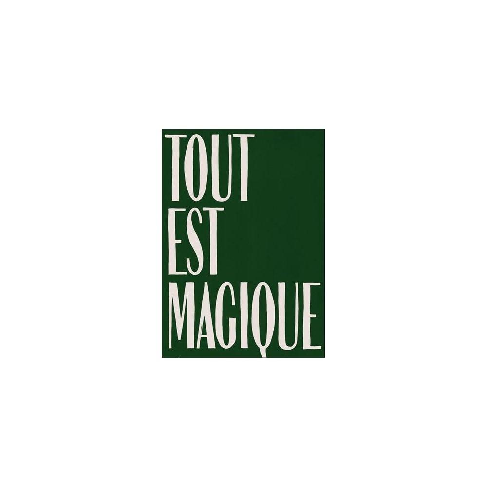 Kartka okolicznościowa Green Tout est Magique HOTEL MAGIQUE
