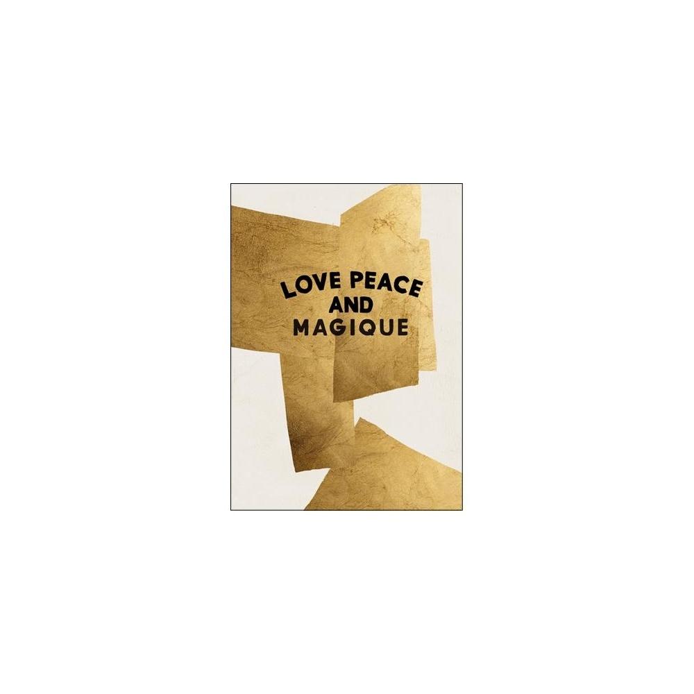 Kartka okolicznościowa Golden Love Peace and Magique HOTEL MAGIQUE